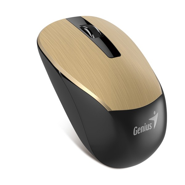 Genius NX-7015 Gold-Black Wireless Mouse