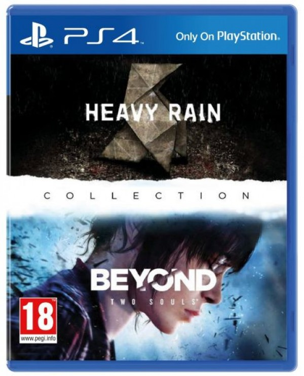 HEAVY RAIN & BEYOND 2 SOULS video igra za PS4