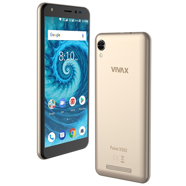 Vivax Point X502 Dual SIM Gold