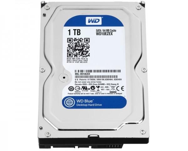 WD 1TB 64MB SATA3 WD10EZEX Blue