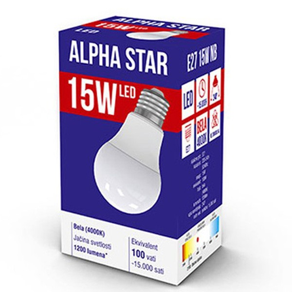 Alpha Star E27 15W Led sijalica