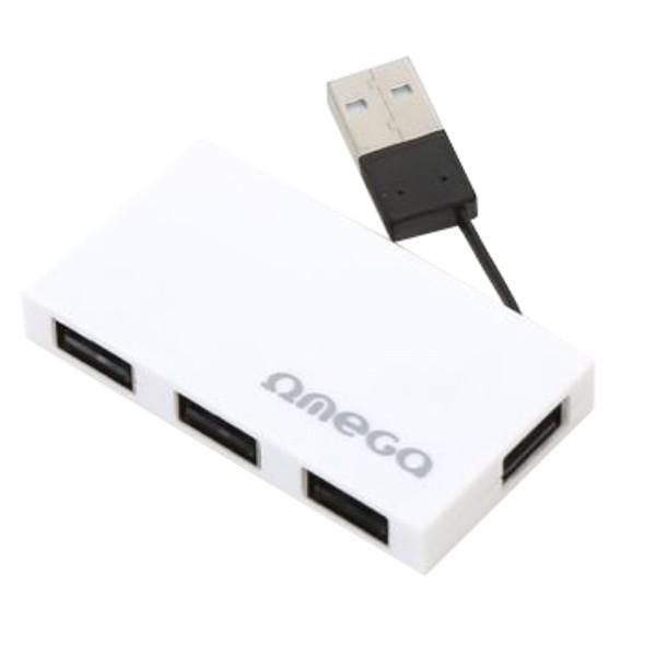 Omega OUH24BBW USB Hub White