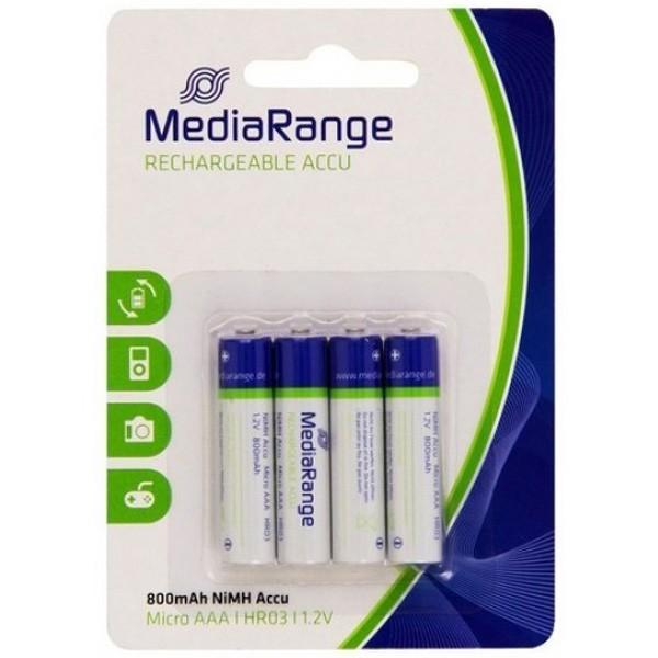 MediaRange AAA 800mAh rechargeable