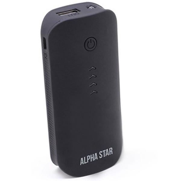 Alpha Star 4000mAh Power Bank Black
