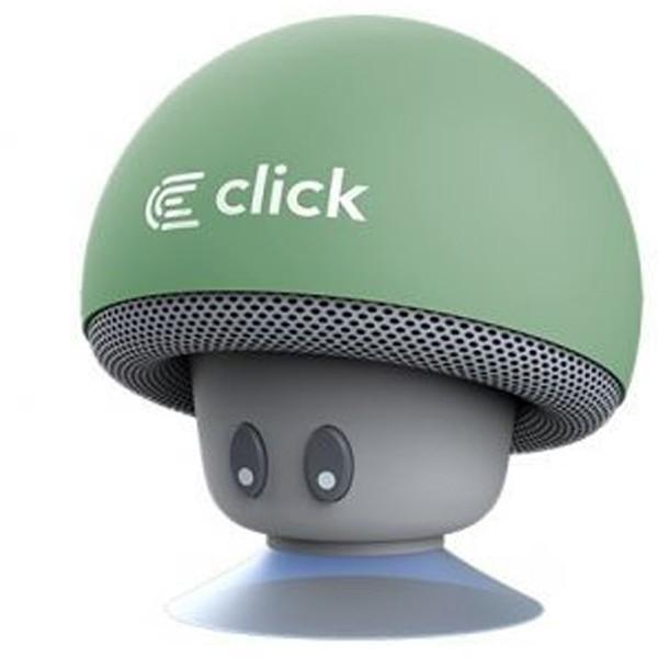 Click BS-R-MBG Bluetooth zvučnik Mushroom, pastelno zeleni