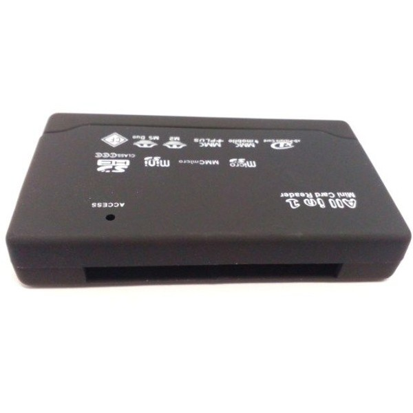 Gembird FD2-ALLIN1-BLK USB 2.0 Card Reader