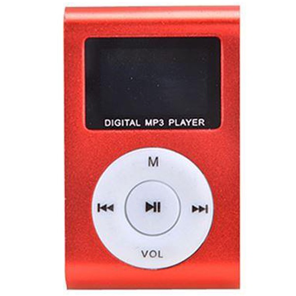 Gigatech GMP-13 FM/LCD MP3 player Red