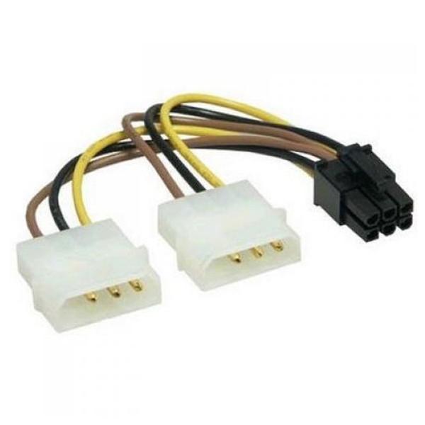 Adapter 2x Molex na 6 pin VGA