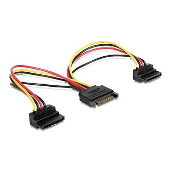 Gembird SATA power spliter sa izlaznim konektorima pod uglom