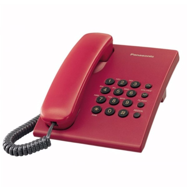 Panasonic KX-TS500FXR Red