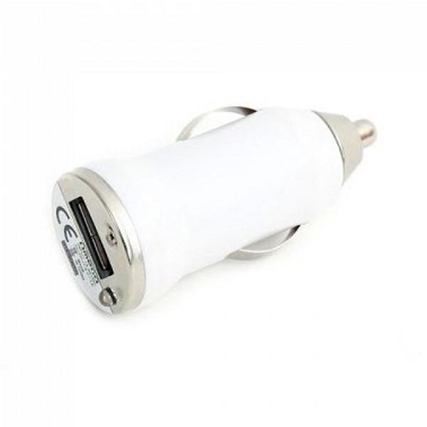 Punjač za auto USB 5V 1A White