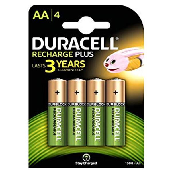 Duracell AA 2500mAh rechargable