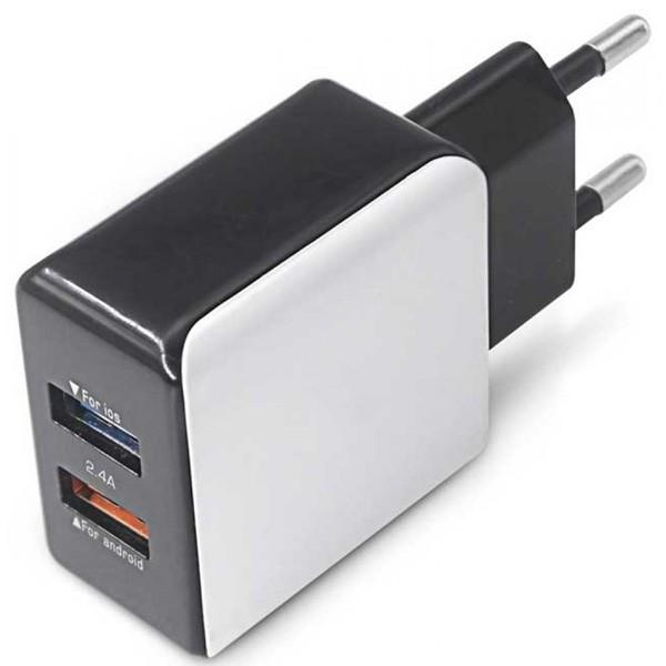MS STREAM dual USB punjač 2.4A