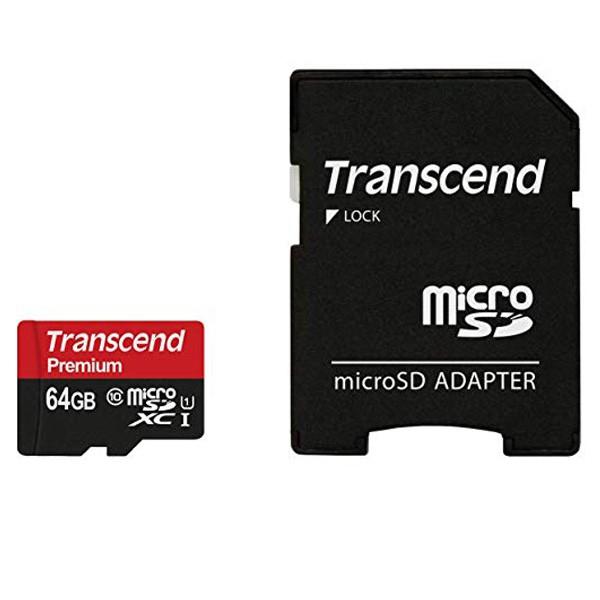 Transcend microSDXC UHS-I 64GB TS64GUSDU1