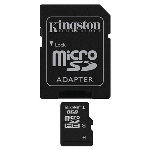 Kingston microSDHC 8GB SDC4/8GB