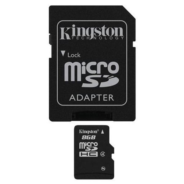 Kingston microSDHC 8GB SDC4/8GB
