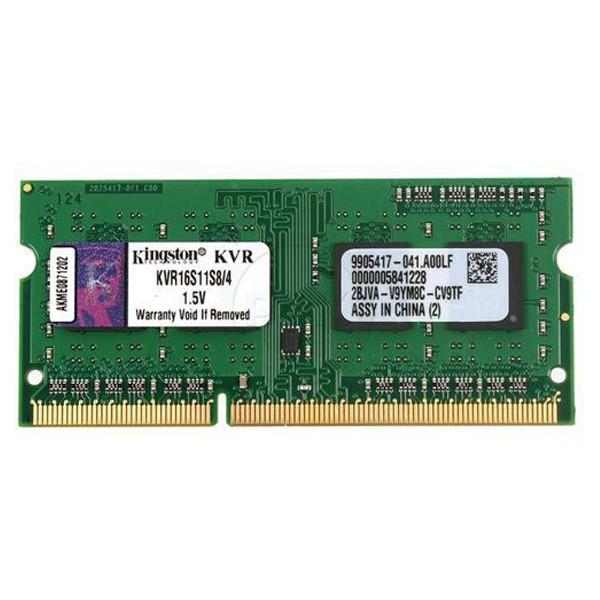 Kingston 4GB DDR3 SODIMM 1600MHz KVR16S11S8/4