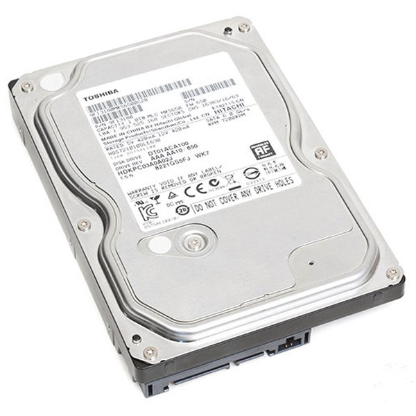 Toshiba 1TB 3.5'' SATA3 DT01ACA100