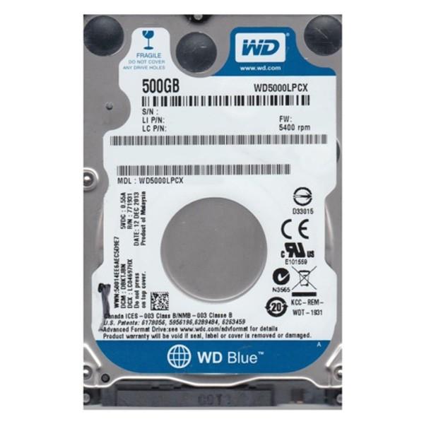 WD 500GB 2.5'' SATA3 WD5000LPCX