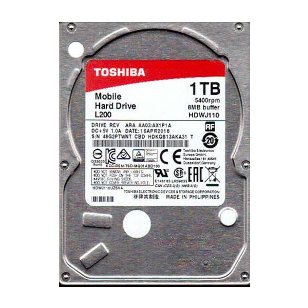 Toshiba 1TB 2.5'' SATA3 HDWJ110