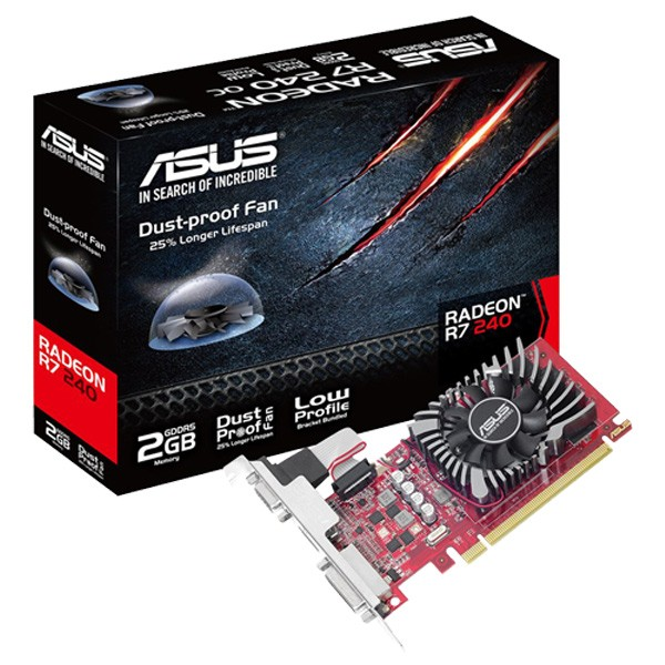 Asus AMD Radeon R7240-2GD5-L 2GB DDR5