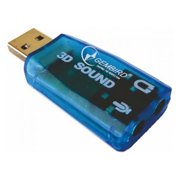 Gembird 3D USB Sound Adapter 5.1 CMP-SOUNDUSB13
