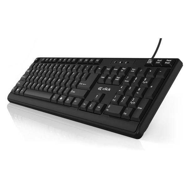 Click K-L0B/US Crna tastatura USB