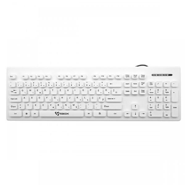 S BOX K-16B tastatura USB SRB