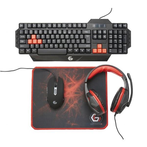 Gembird GGS-UMG4-01 gaming set 4 in 1 US