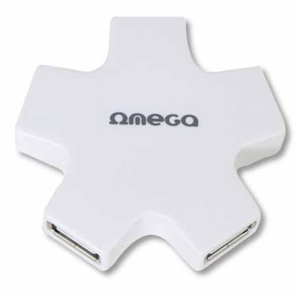 Omega OUH24SW USB Hub White