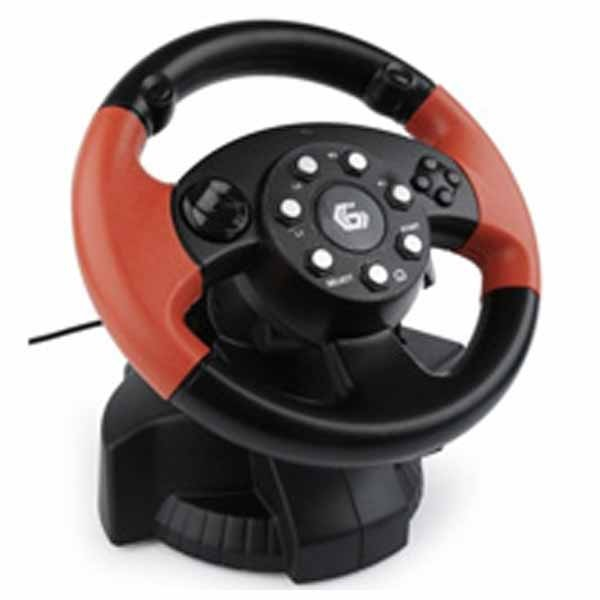 Gembird Racing Wheel 3in1 PC/PS2/PS3