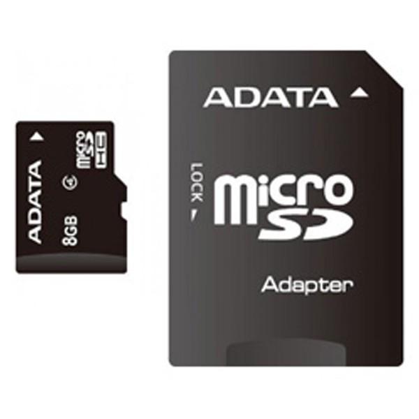 Adata microSDHC 8GB AUSDH8GCL4-RA1