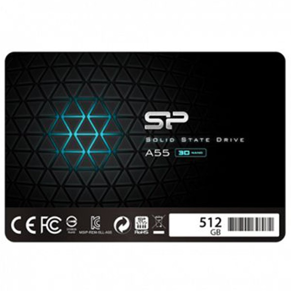 Silicon Power 512GB 2.5'' SSD A55 SATA 6