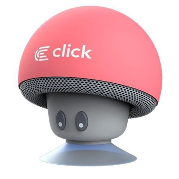 Click BS-R-MP Bluetooth zvučnik Mushroom, pink