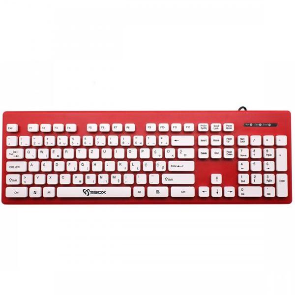 S BOX K-16R tastatura USB SRB