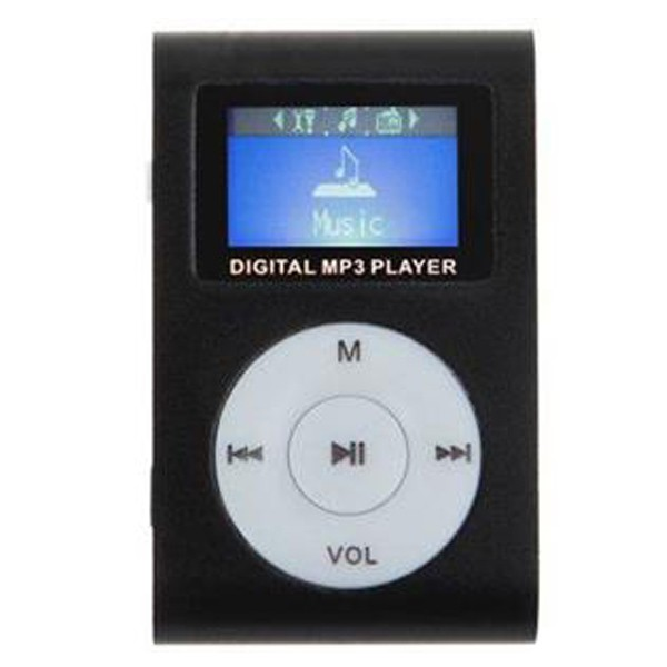 Gigatech GMP-13 FM/LCD MP3 player Black