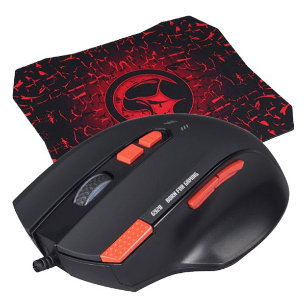 Marvo G928+G1 Gaming Mouse + mousepad