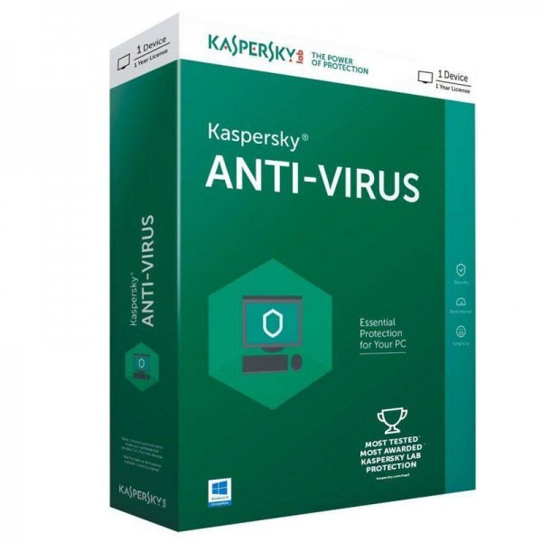 Kaspersky Anti-Virus 2019, licenca za 5 korisnka