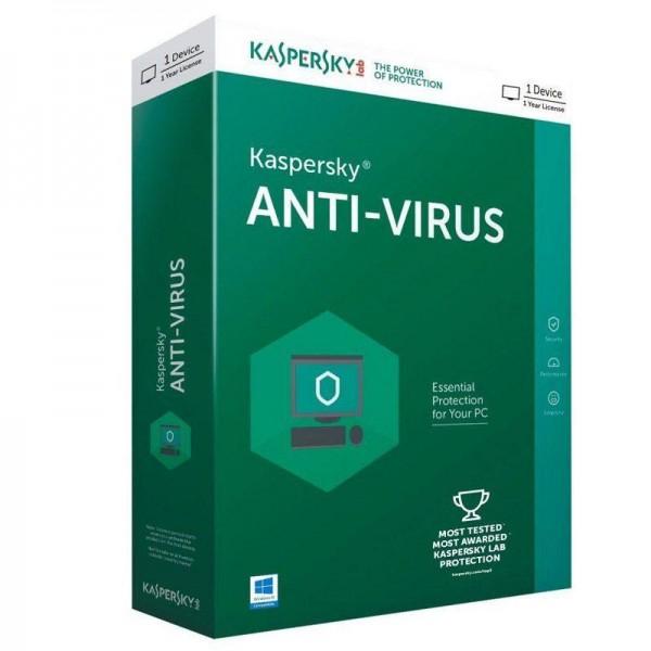 Kaspersky AntiVirus, obnova licence za 1 korisnika