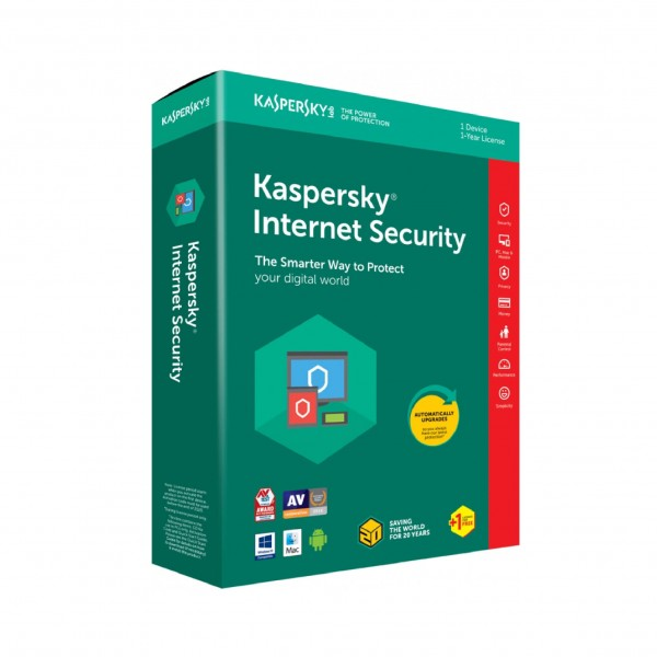 Kaspersky Internet Security, licenca za 1 korisnka