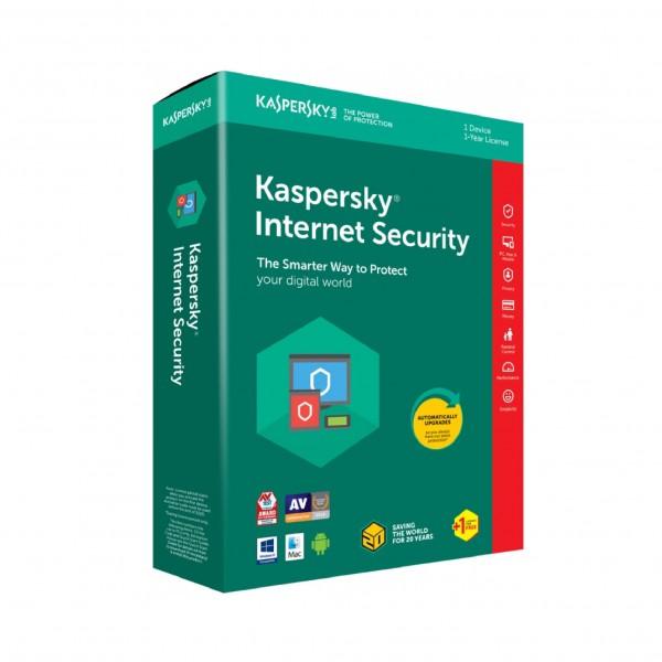Kaspersky Internet Security, obnova licence za 1 korisnika