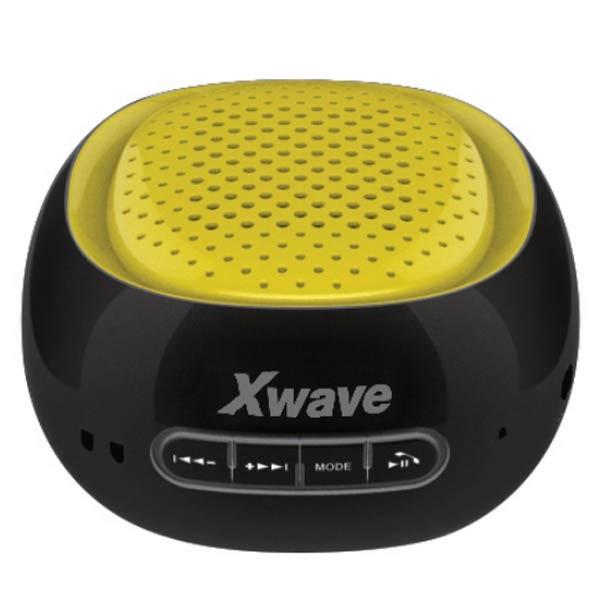 Xwave B COOL black/yellow ring BT/FM/microSD/USB Bluetooth zvučnik