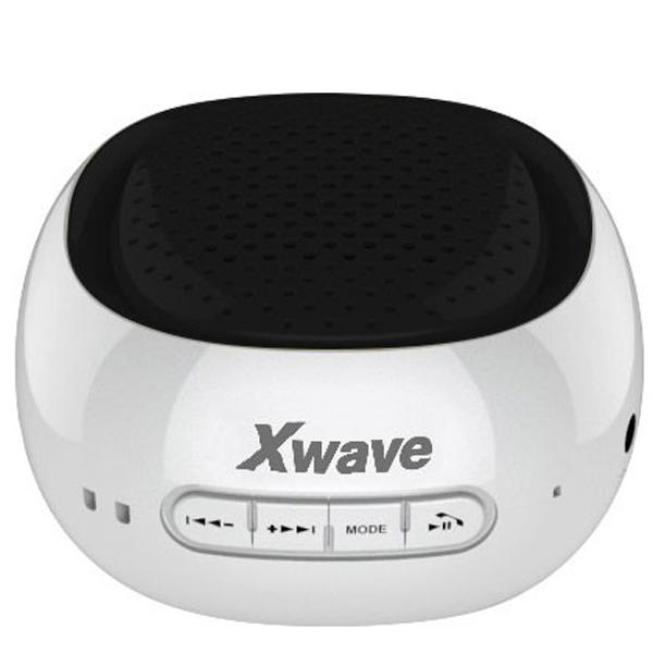 Xwave B COOL all white ring BT/FM/microSD/USB Bluetooth zvučnik