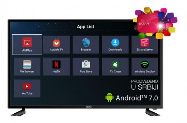 Vivax TV-40LE79T2S2SM 40'' Smart T2 Full HD