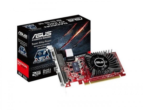 Asus AMD Radeon R7 240 R7240-2GD3-L 2GB GDDR3
