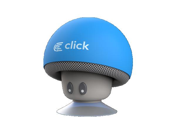 Click BS-R-MBL Bluetooth zvučnik Mushroom, plavi