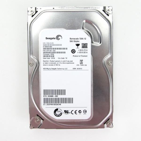 Seagate 500GB SATA3 ST3500413AS