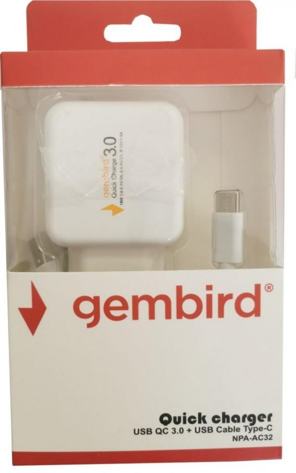 Gembird NPA-AC32 brzi punjač