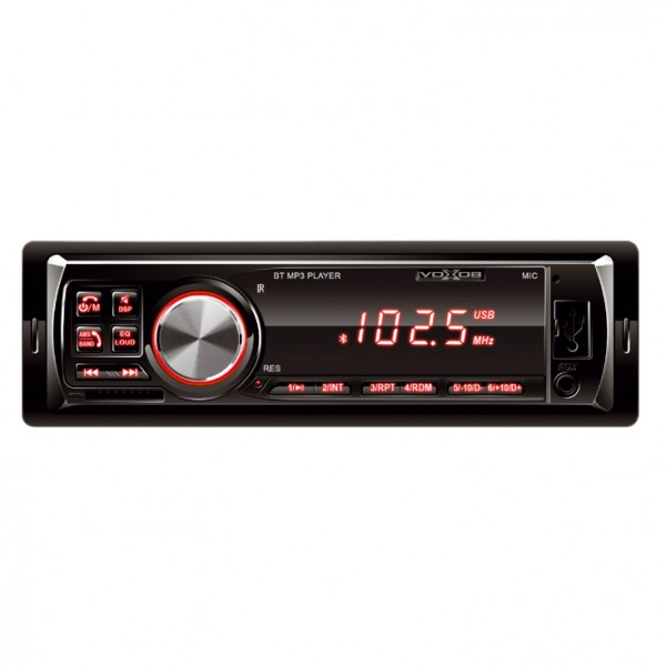 SAL VBT 1000RD Auto radio BT/Wi-Fi/MP3/AUX/USB/SD 4x45W