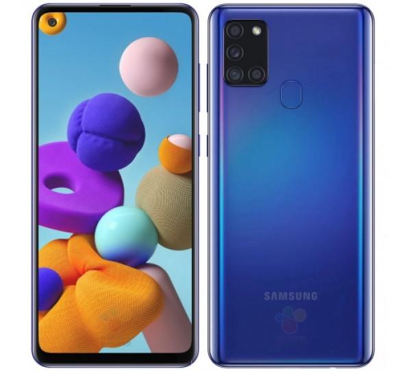 Samsung A21s Dual SIM Blue